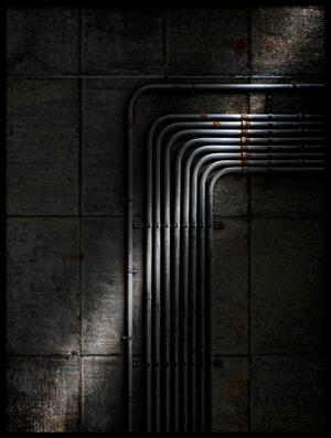 Buy this art print titled -  U N D E R  T H E  B R O O K L Y N  B R I D G E  - by the artist Wim Schuurmans