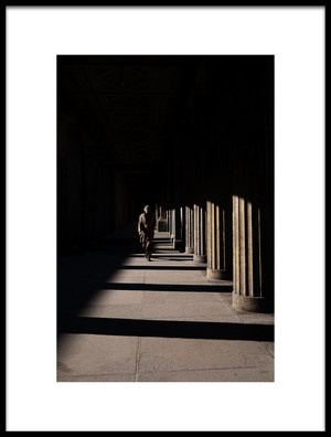 Buy this art print titled  Columns and Shadows by the artist Enrico Finotti Re