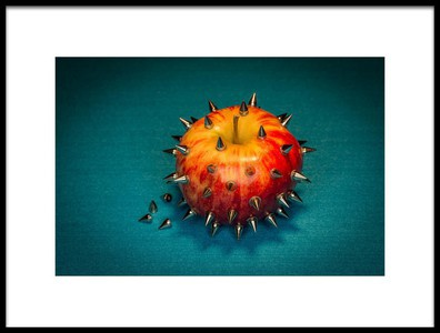Art print titled  Datura  Stechapfel by the artist tom r. grabuschnigg (tomtitan)