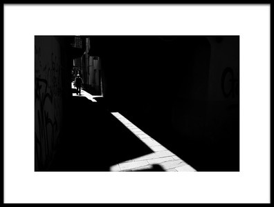 Art print titled  Lines of Light by the artist Enrico Finotti Re