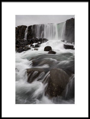 Buy this art print titled  Pingvellir National Park by the artist Alfred Forns