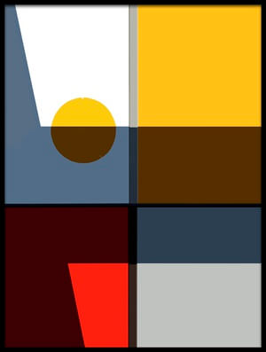 Buy this art print titled  Quadrants by the artist Cindy Liu