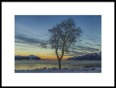 Art print titled 15 Degrees Celcius by the artist Christer Olsen