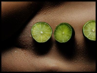 Art print titled 3 Lemons by the artist Dieter Plogmann