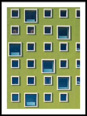 Buy this art print titled 39 Windows by the artist Jan Lykke