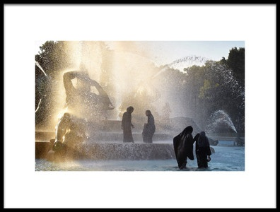 Art print titled 40 Degrees Celsius by the artist Jane Lyons