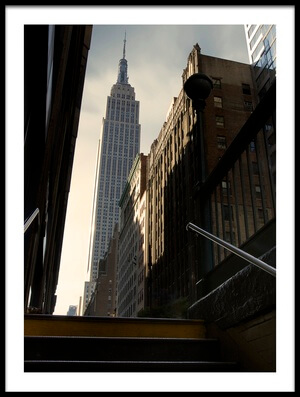 Art print titled 53th Avenue by the artist Sebastien DEL GROSSO