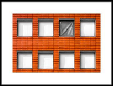 Buy this art print titled 8 Minus 1 by the artist Luc Vangindertael (laGrange)