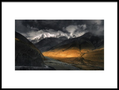 Art print titled A Bend to Light by the artist Selions