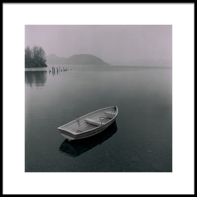 Art print titled A Boat Without Oar by the artist Fuyuki Hattori