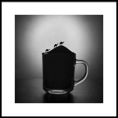 Art print titled A Cup of Sugar by the artist Victoria Ivanova