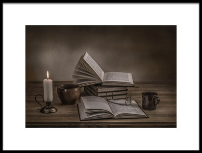 Buy this art print titled A Good Read by the artist Margareth Perfoncio
