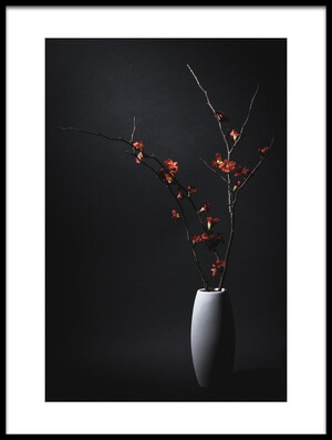 Buy this art print titled A Japanese Quince by the artist Daisuke Kiyota