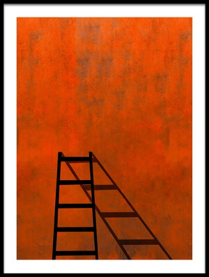 Buy this art print titled A Ladder and Its Shadow by the artist Inge Schuster