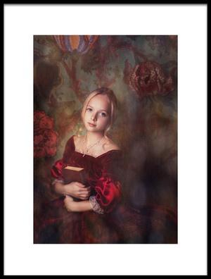Art print titled A Little Bit of Magic by the artist Alina Lankina