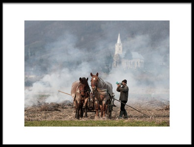 Buy this art print titled A Long Day by the artist Mihnea Turcu