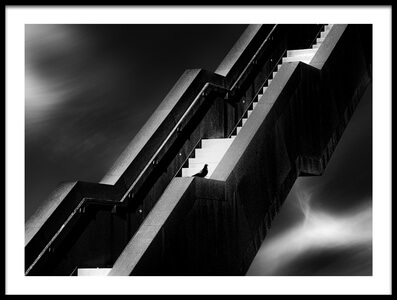 Art print titled A Long Way  by the artist Marc Huybrighs