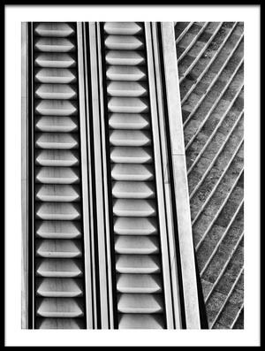 Art print titled A Lot of Stairs by the artist Jeroen van de Wiel