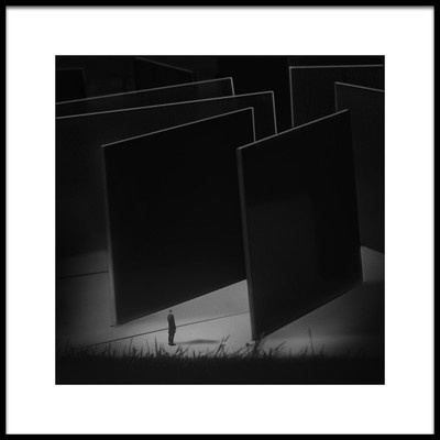 Art print titled A Maze by the artist Martin Cekada