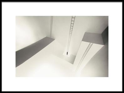 Art print titled A Maze by the artist Martin Cekada