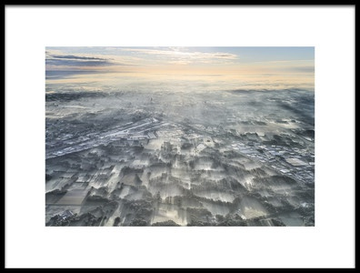 Art print titled A Misty Morning by the artist Kos Karathanasis