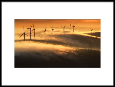 Art print titled A Mountain of Energy by the artist Matej Kovac