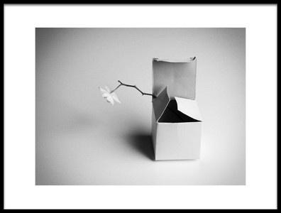 Art print titled A Present by the artist Kristina Oveckova