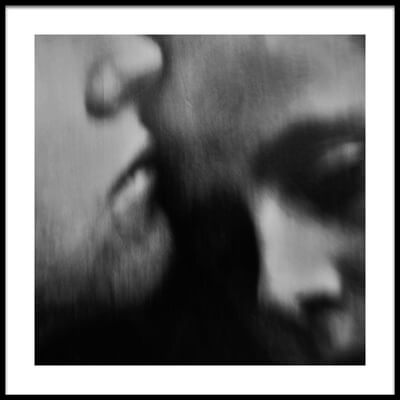 Buy this art print titled A Quiet Darkness (the Kiss) by the artist Dalibor Davidovic