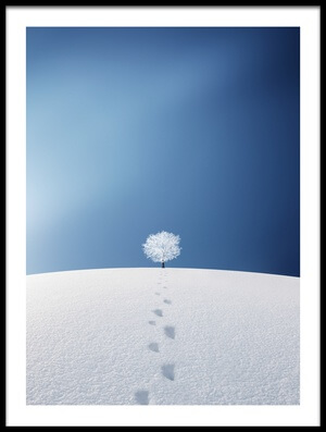 Buy this art print titled A Tree In the Field by the artist Bess Hamiti