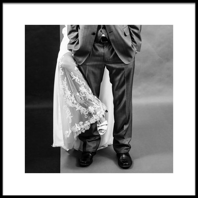 Art print titled A Wedding Photo by the artist Humusak