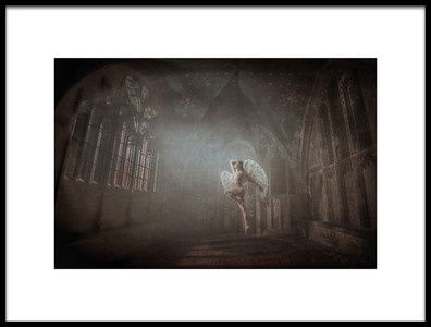 Buy this art print titled Abandon Angel by the artist Chris Netton