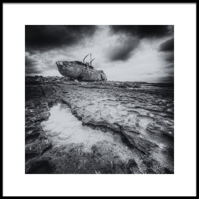 Art print titled Abandoned by the artist Thomas Siegel