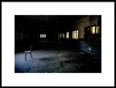 Art print titled Abandoned by the artist Nihal Eken