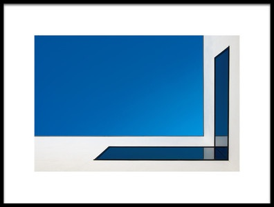 Art print titled About Corner by the artist Rolf Endermann