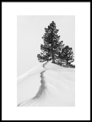Buy this art print titled About the Snow and Forms by the artist Rodrigo Núñez Buj