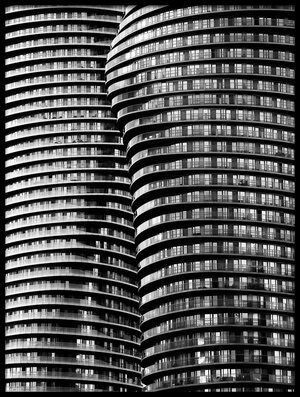 Art print titled Absolute Towers by the artist Roland Shainidze