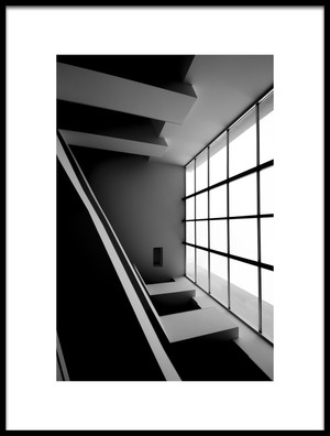Buy this art print titled Abstract Architecture by the artist Nuno Rocha