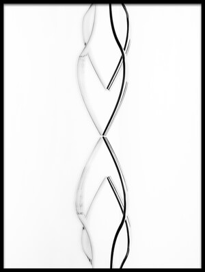 Buy this art print titled Abstract Cutlery by the artist Greetje van Son