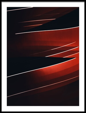 Art print titled Abstract Siding by the artist Marc Huybrighs