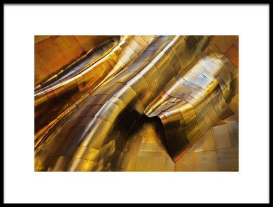 Buy this art print titled Abstract Steel by the artist S. Amer