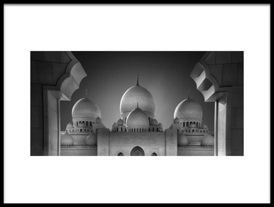 Art print titled Access to Heavens 2 by the artist Ahmed Thabet