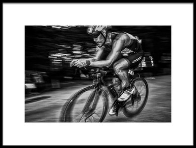 Art print titled Action BW by the artist Benny Pettersson