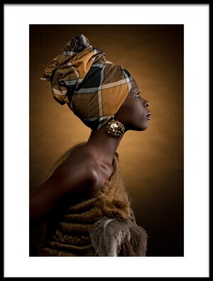 Buy this art print titled African Queen 2 by the artist Maurice de Vries