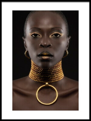 Buy this art print titled African Queen by the artist Maurice de Vries