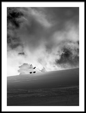 Buy this art print titled After 30 Cm of Fresh Snow by the artist Eric Verbiest