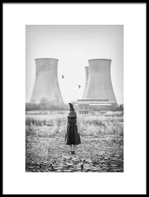 Art print titled After Air Pollution by the artist Zhou Chengzhou