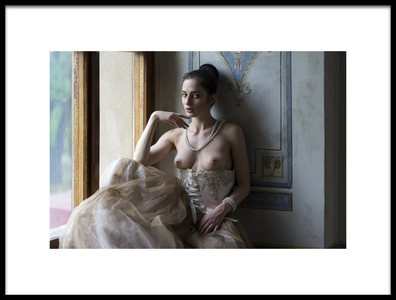 Art print titled After the Ball by the artist Alex Tsarfin
