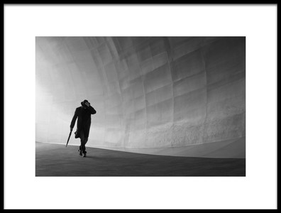 Art print titled Against the Wind by the artist Roelof de Hoog