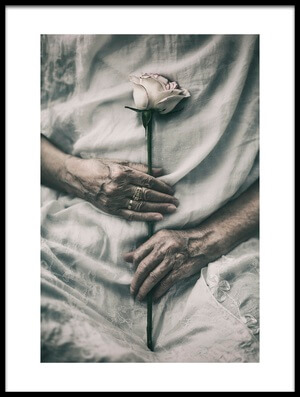 Art print titled Ageless Beauty by the artist nima.zadshir