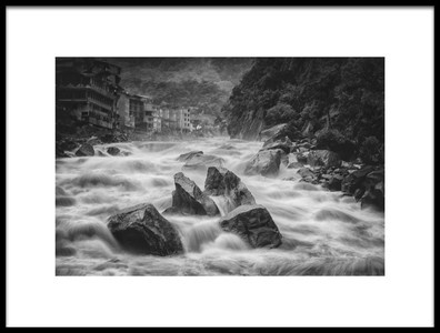 Art print titled Aguas Calientes by the artist Richard Huang